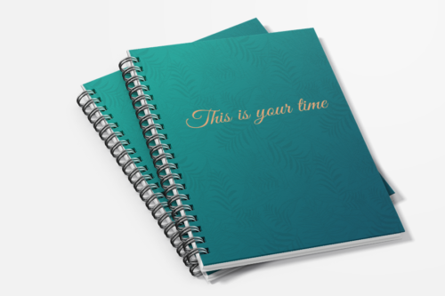 Planner voorkant This is your time